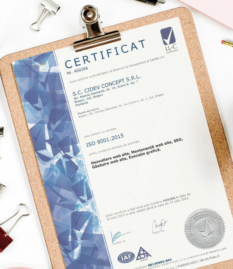 Firma Web Design Brasov